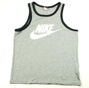 Nike black and Gray tank top size Medium  mens